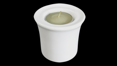 Image for CANDLE HOLDER WITH CANDLE