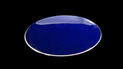 Image for COBALT DISH WITH GOLD