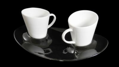 "Image for COFFEE SET GONDOLA ""TÚ Y YO"" - BLACK"