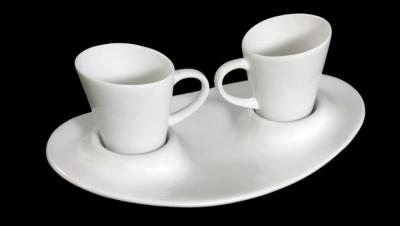 "Image for COFFEE SET GONDOLA ""TÚ Y YO"" - WHITE"