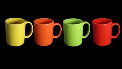 Image for COLOURED MUG CUPS
