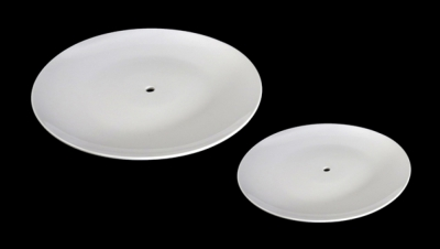 Image for DISH WITH HOLE FOR CLOCK