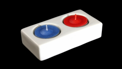 Image for DOUBLE CANDLEHOLDER