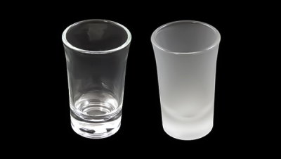 Image for GLASS CUP WITH OPEN MOUTH