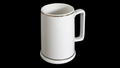 Image for MEDIUM BEER STEIN WITH GOLD
