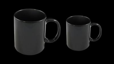 Image for MUG CUP BLACK COLORED