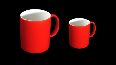 Image for MUG CUP RED COLORED