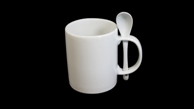Image for MUG CUP WITH SPOON