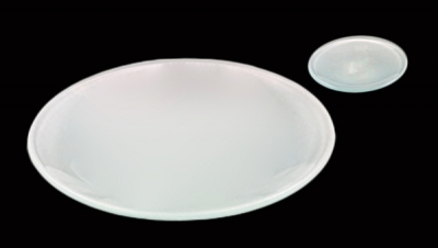 Image for ROUND GLASS PLATES