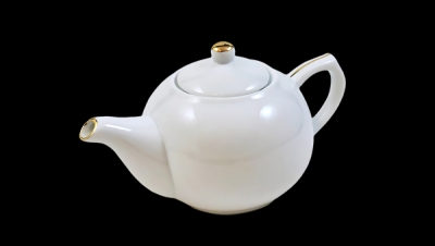 Image for SMALL TEAPOT WITH GOLD
