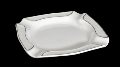 Image for SQUARE SHAPED ASHTRAY GOLD
