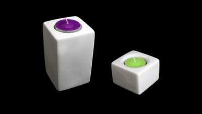 Image for SQUARE SHAPED CANDLEHOLDER