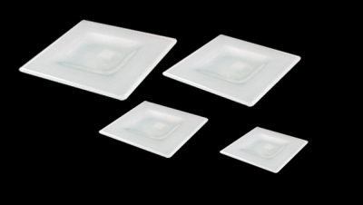 Image for SQUARE SHAPED GLASS DISH