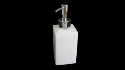 Image for SQUARE SHAPED SOAP DISPENSER