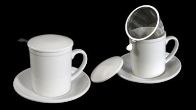 Image for STRAIGHT TISANE WITH LID AND METAL FILTER