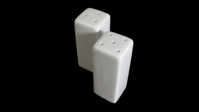 Image for TALL AND SQUARE SHAPED  SALT AND PEPPER