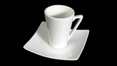 Image for VIENNA COFFEE SET WITH SQUARE SHAPED DISH