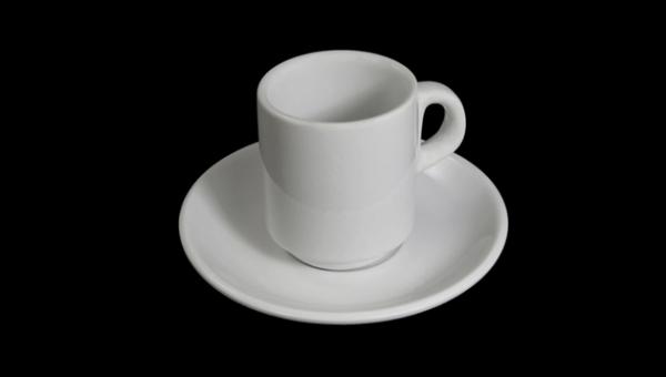 Imágen para JUEGO DE CAFÉ EXPRESO CON TAZA ALTA APILABLE