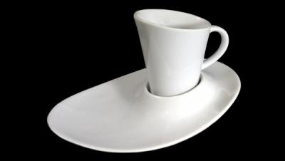 Imágen para JUEGO DE CAFÉ GÓNDOLA - BLANCO