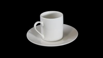 Imágen para JUEGO DE CAFÉ TAZA RECTA CON PLATO REDONDO