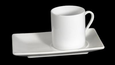 Image pour CAFÉ SET TASSE DROIT AVEC PLAT